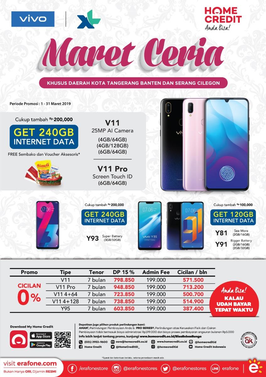 #Erafone - #Promo Produk VIVO Maret Ceria Special Tangeang Banten & Cilegon (s.d 31 Maret 2019)