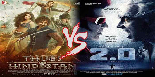 Thugs of Hindostan vs Robot 2 Box Office Collection Prediction, Total Earning Report