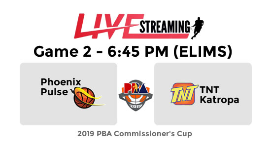 LIVE: Phoenix Pulse vs TNT Katropa | Elimination Round ~ PBA Updates
