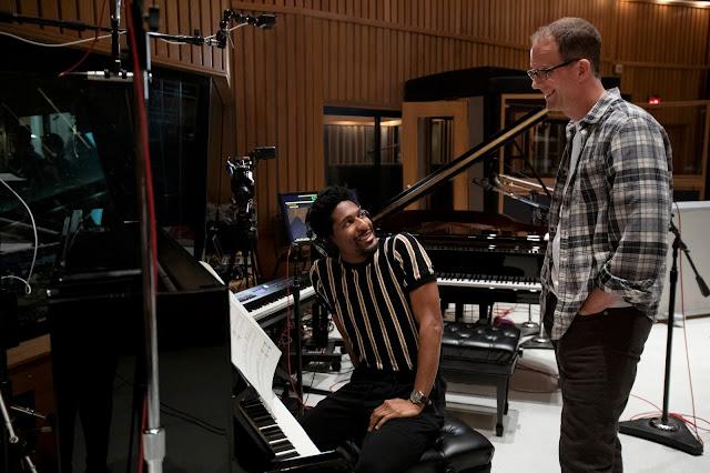 Pixar Soul Jon Batiste in the Studio Recording the Soundtrack