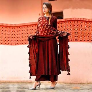 Women'S Solid Rayon Kurta Sets