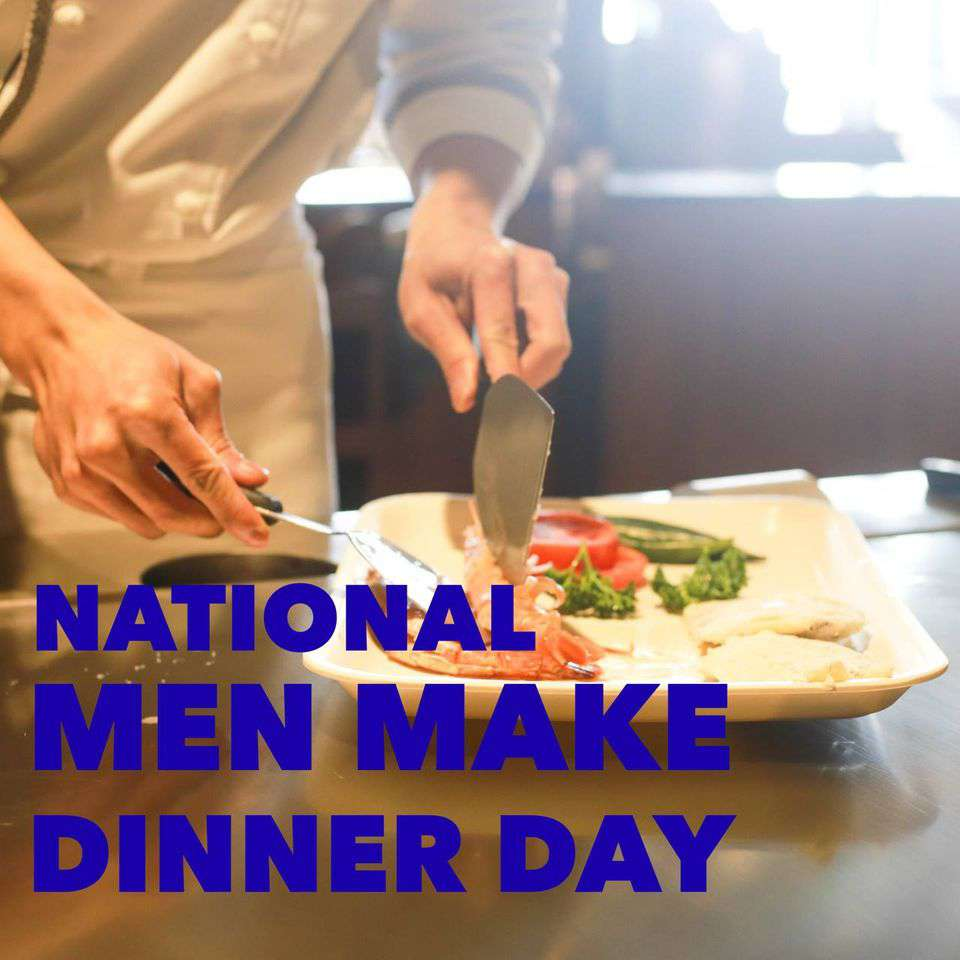 National Men Make Dinner Day Wishes pics free download