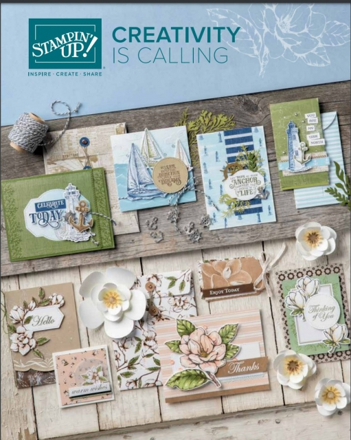 Stampin' Up 2019-20 Annual catalogue