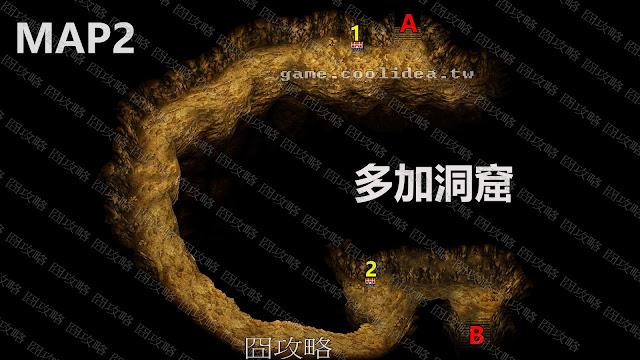 多加洞窟地圖2