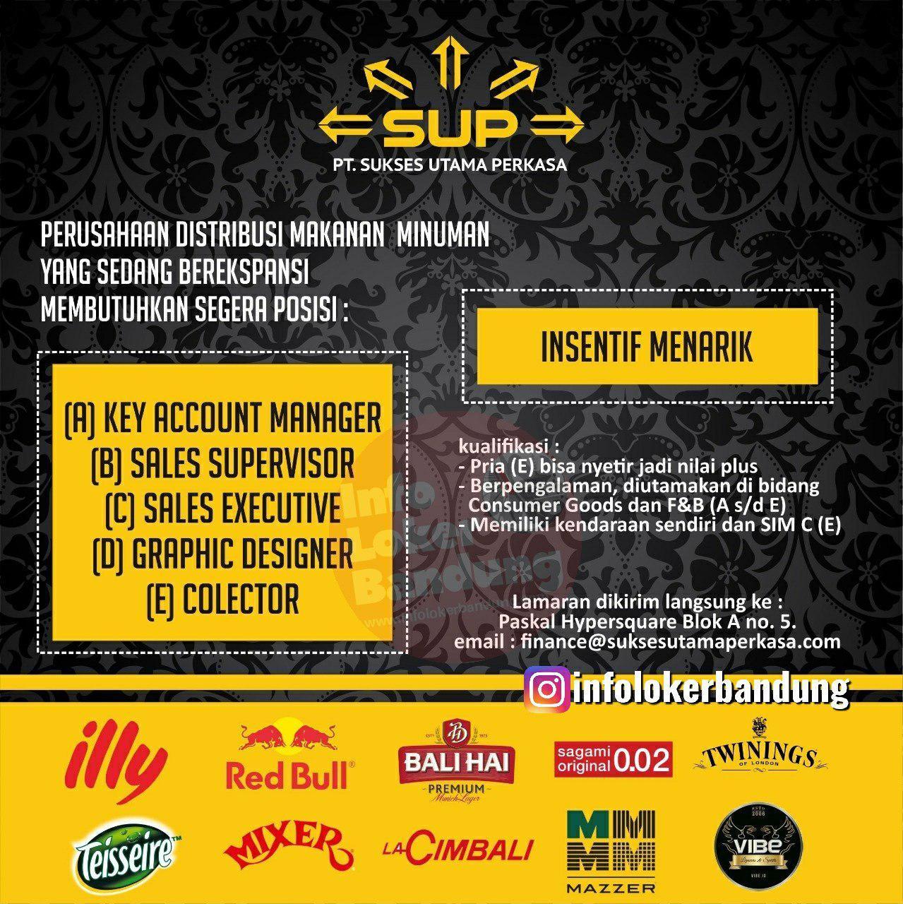 Lowongan Kerja Pt Sukses Utama Perkasa Bandung Juni 2019 Info Loker Bandung 2021