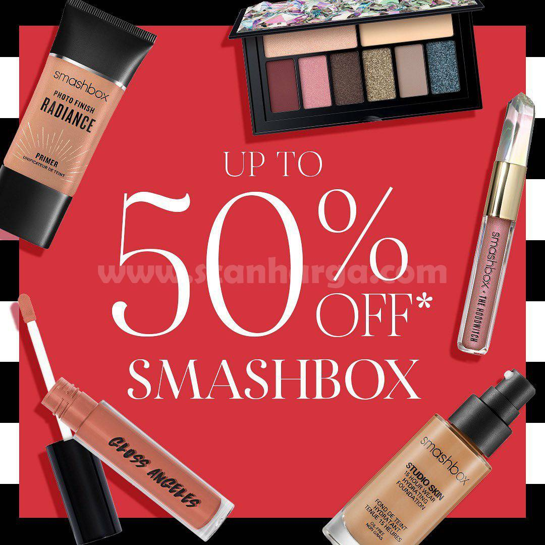 Promo SEPHORA Disc. Up To 50% Off! Special Smashbox Product