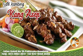 Harga Sate Kambing Kang Asep