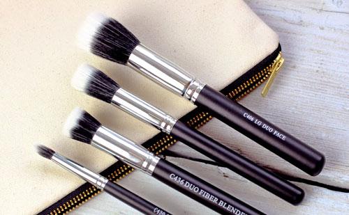 Brochas mofeta para maquillaje de diferentes tamaños