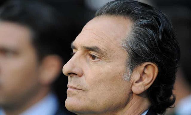 Fiorentina manager Cesare Prandelli