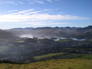 The view south from Latrigg
