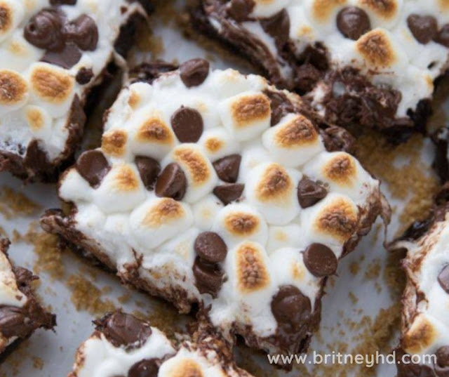 EASY S'MORES BROWNIES RECIPE