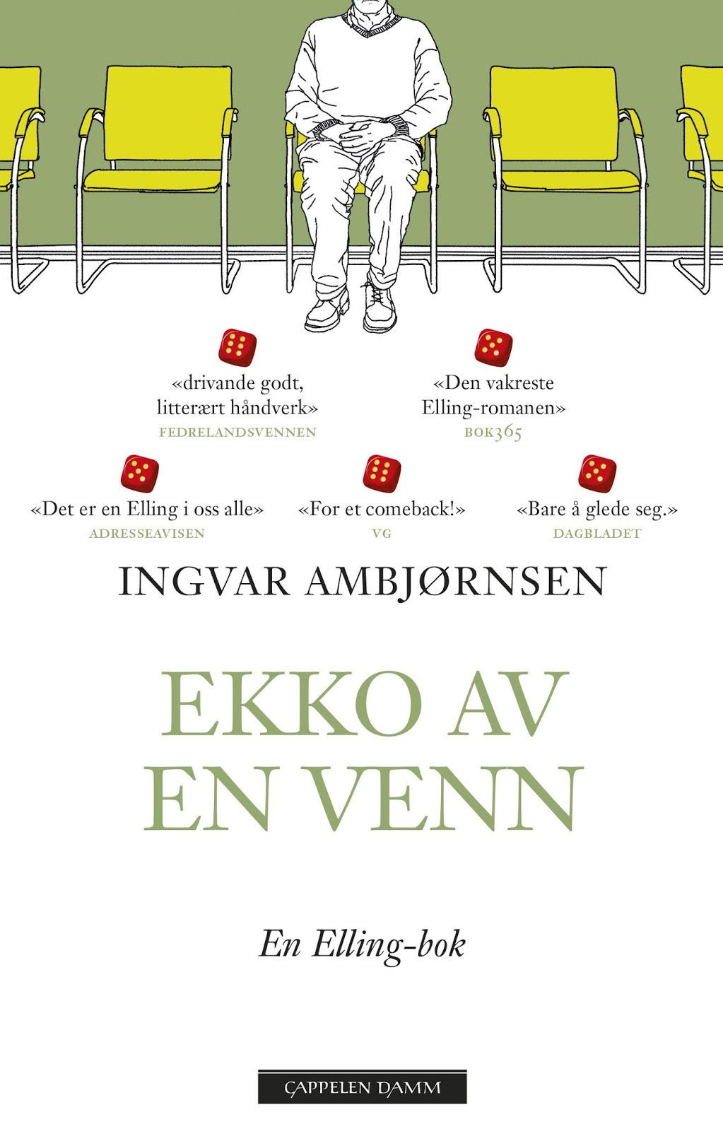 d285cd036 Ingvar Ambjørnsen : Ekko av en venn : Cappelen Damm : 314 sider