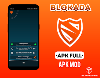 Blokada v4.5.2 [No Root – AD Blocker for Android] [PREMIUM]