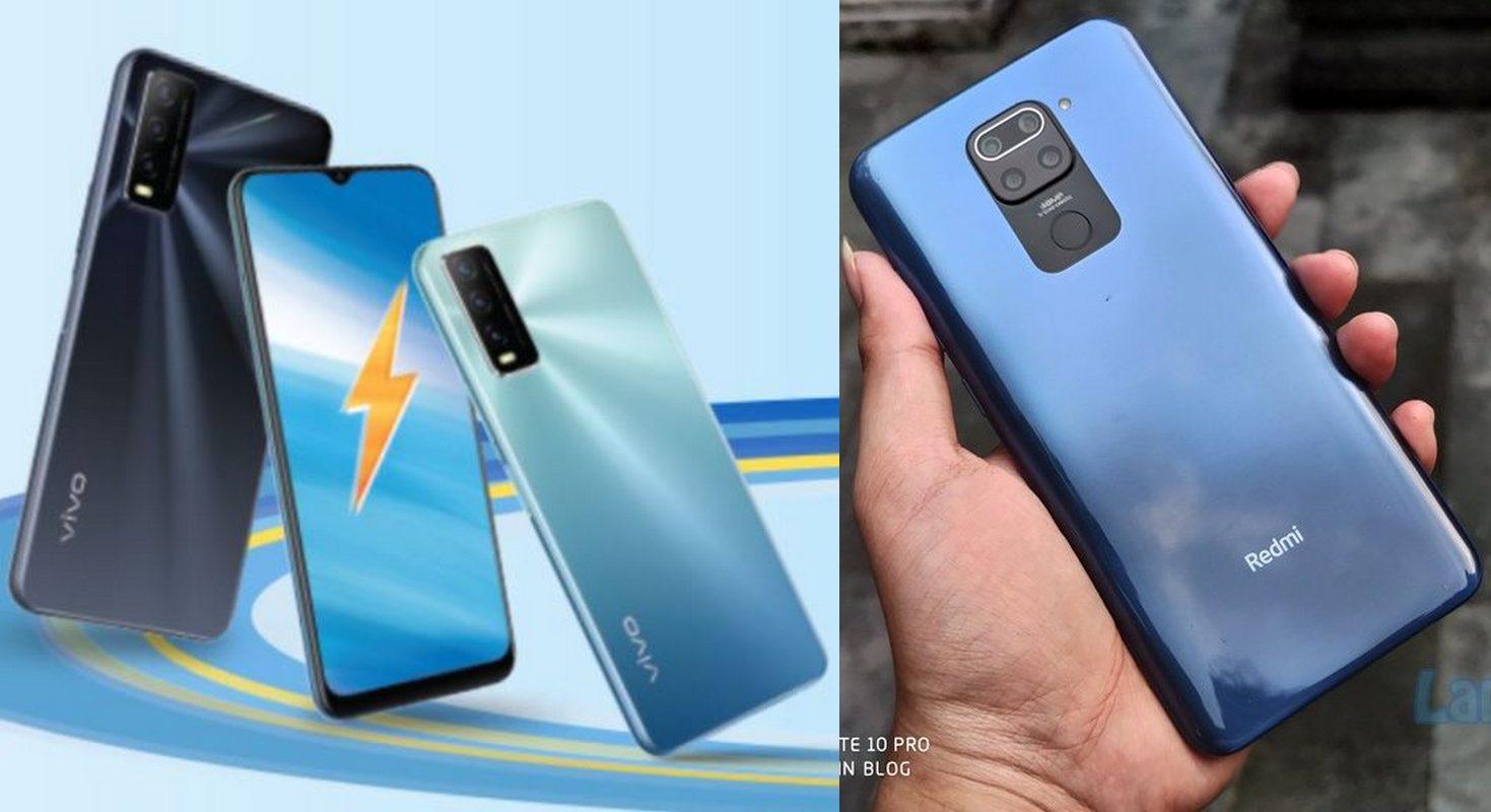 Duel Vivo Y20s G vs Xiaomi Redmi Note 9: Sama-Sama Andalkan MediaTek Helio G Series, Pilih Mana?