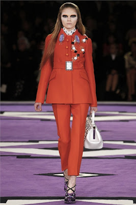 Military chic Trend - Prada - Fall Winter 2012