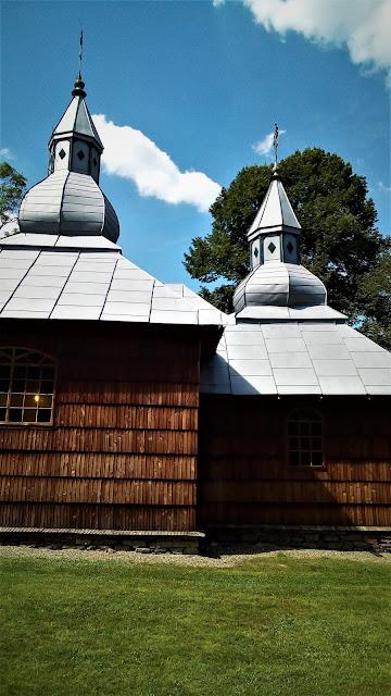 Olchowiec, drewniana cerkiew