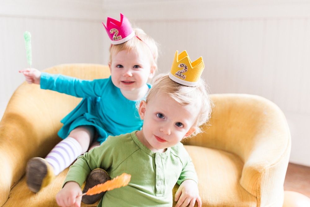 parenting twins, twin birthday party, pearl snap hall, raising twins, two year twins, June and January, birthday photoshoot, birthday photography, twin photography, Austin photographer, Austin family photographer, twin mom, twin parenting, raising twins, life with twins, newborn twins, little blue olive, baby party hats, baby crowns, party crowns, Jesse Coulter, mom blog, parenting blog, Austin mom blog, Austin mom, Texas blogger