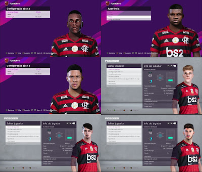 PES 2020 Facepack Flamengo