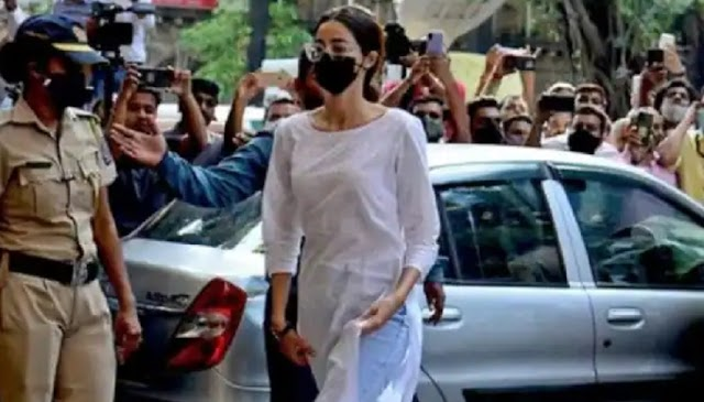 अभिनेत्री अनन्या पांडे से आज तीसरी बार NCB करेगी पूछताछ