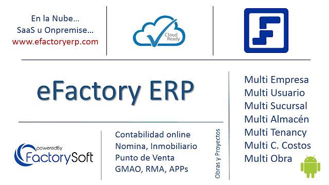 Ejemplo de Formato de Orden de Compra de Proveedor en eFactory Software ERP en Nube
