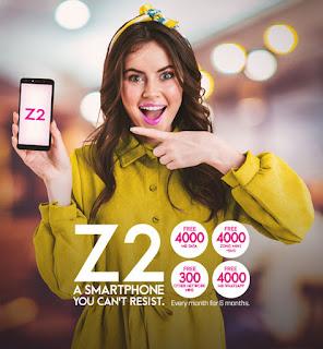 zong z2 free offer