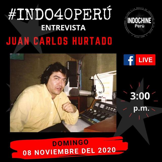 #INDO40PERU - Entrevista a Juan Carlos Hurtado