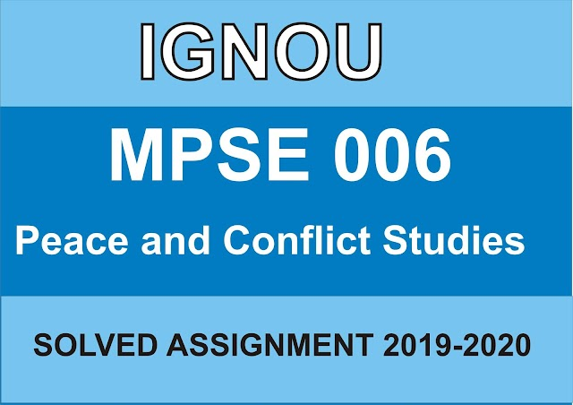 MPSE 006 Solved Assignment