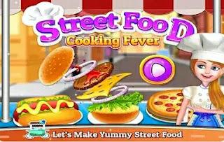 Game Memasak Makanan Korea - Street Food