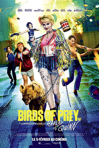 Birds of Prey 2020 Dual Audio ORG Hindi 480p BluRay 350MB ESubs poster