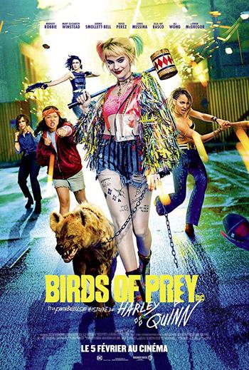 Birds of Prey 2020 Dual Audio ORG Hindi 1080p Full HD BluRay 2.5GB DD5.1Ch ESubs poster