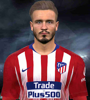 PES 2017 Faces Saúl Ñíguez by Facemaker Huseyn