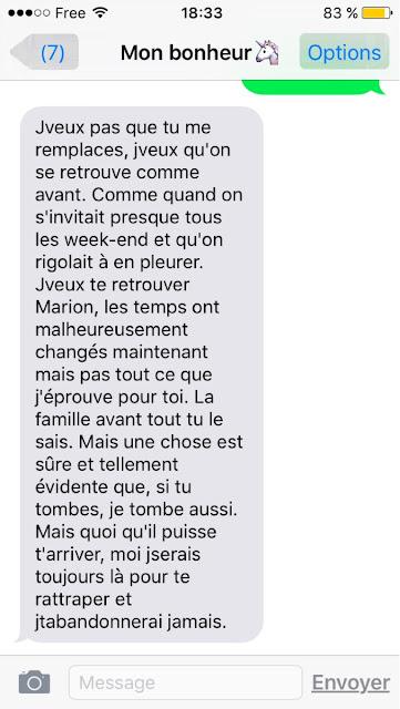 message doux d'amour