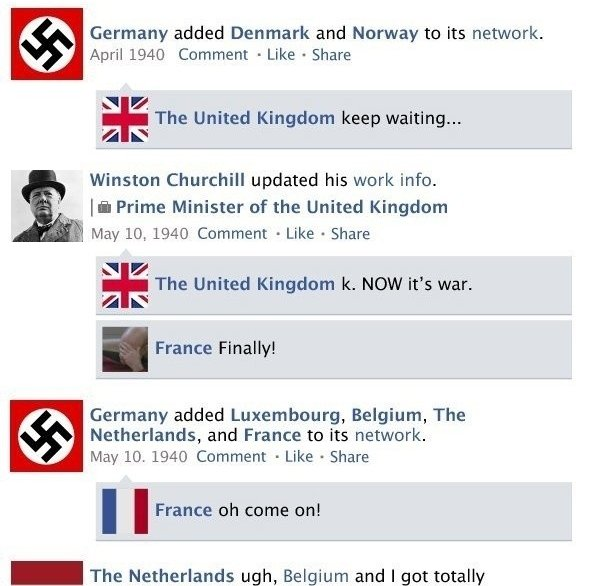 World War ii Facebook 3