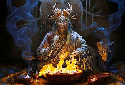 Resultado de imagem para o mundo espiritual indigena