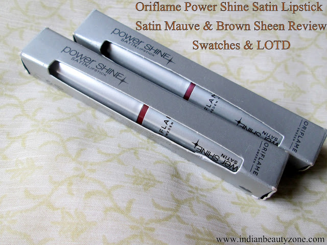 Oriflame lipsticks review