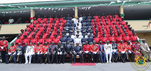 """Maintain High Standards Of The Armed Forces"" – President Akufo-Addo Tells Officer Cadets"