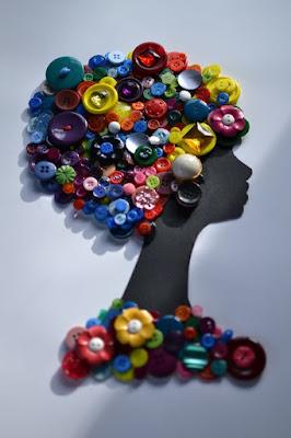 botones reciclados