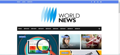 World News Blogger Template