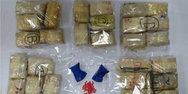 कोलकाता में छह किलो नशीले पदार्थ के साथ तीन लोग गिरफ्तार