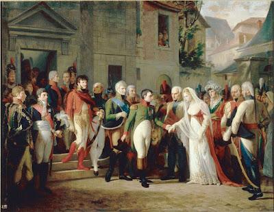 Napoleone a Tilsit