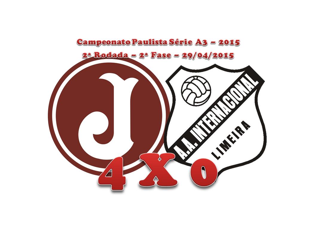 JUVENTUS 4 X 0 Internacional de Limeira Campeonato Paulista Série A3 - 2015  - 2ª Rodada - 2ª Fase Estádio Conde Rodolfo Crespi 907df7eb3af69