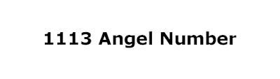 1113 angel number
