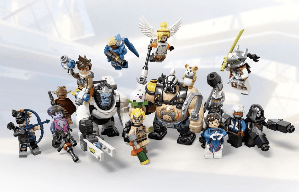LEGO Revealed Overwatch Playsets Featuring Junkrat, Roadhog And Wrecking Ball