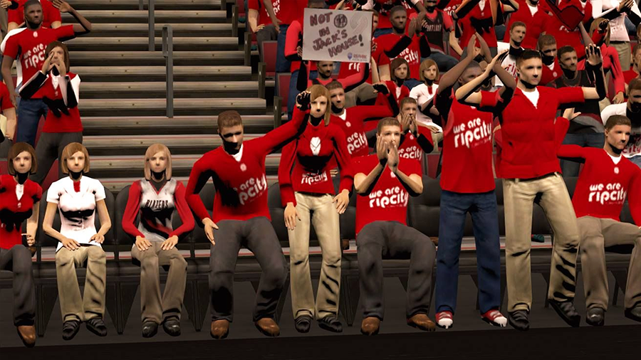Playoffs Crowd NBA 2K14 Playoffs Patch
