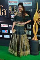 Ritika Singh in a Ethnic Deep Neck Dark Green Choli Ghagra at IIFA Utsavam Awards March 2017 ~ 016.JPG
