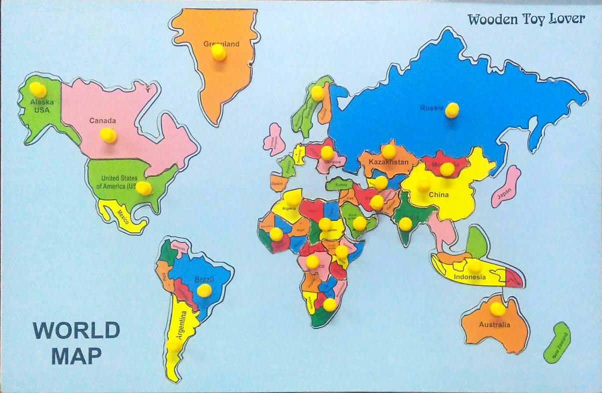 countries of the world puzzle 700 rs shipping 46 30 cm