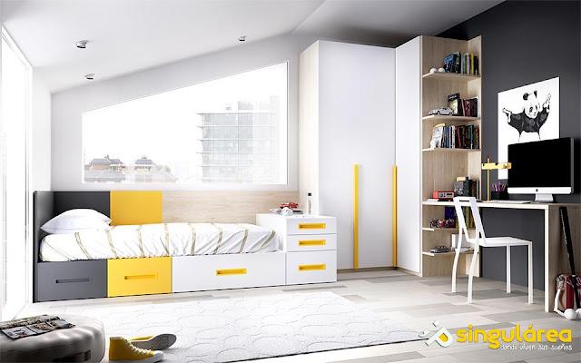 Blog dormitorios juveniles com dormitorios juveniles con for Muebles modulares juveniles