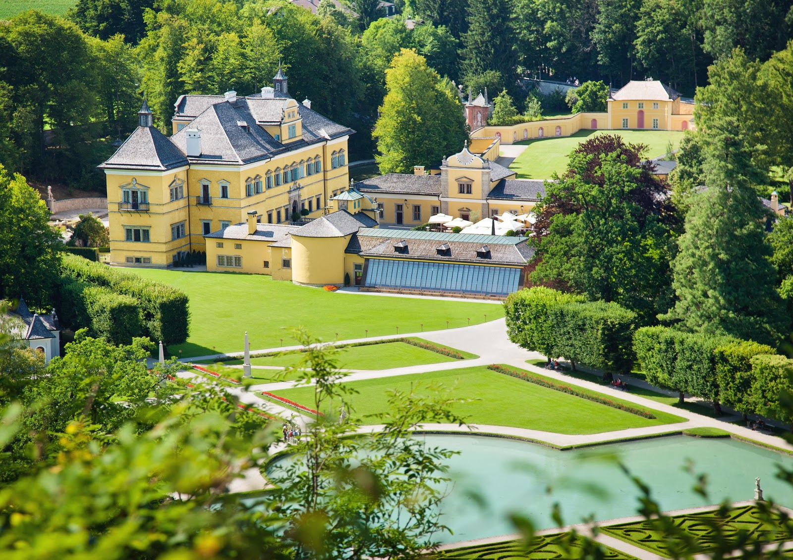 The Hellbrunn Palace in Salzburg, Austria. Photo: © Tourismus-Salzburg GmbH.