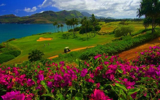 Pantai di Hawaii
