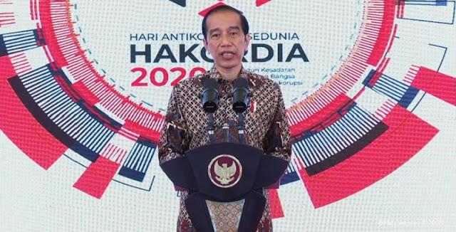 Jokowi: Meskipun Listrik Di KPK Padam Tapi Pemberantasan Korupsi Tidak Boleh Padam!